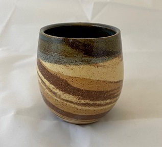 Photo of agateware cup